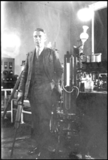 Hubertus Strughold in 1929