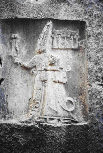 King Tudhaliya IV with Nesilim god Sharrumma