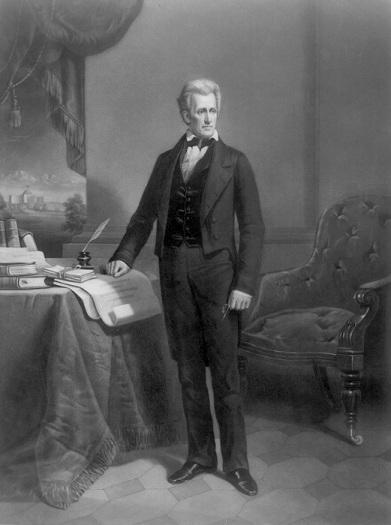 Jackson in office