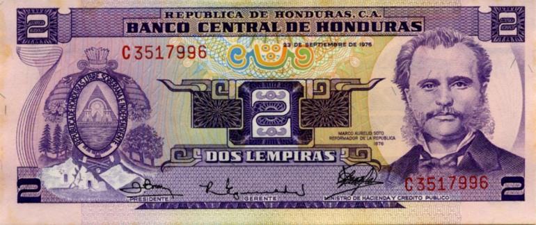 Bank of Honduras money