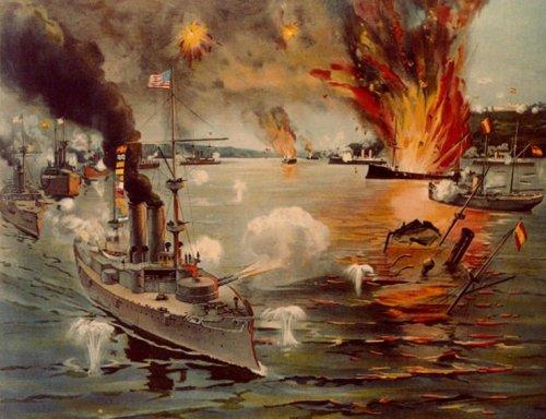 Battle of Manila Bay May 1 1898