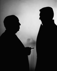 blank shadow men