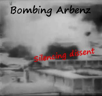 bombing arbenz