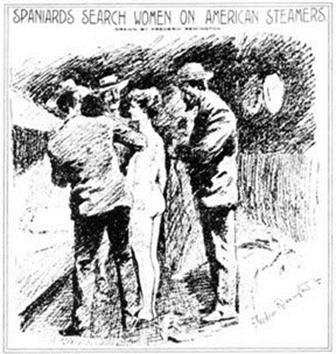 spaniards search women