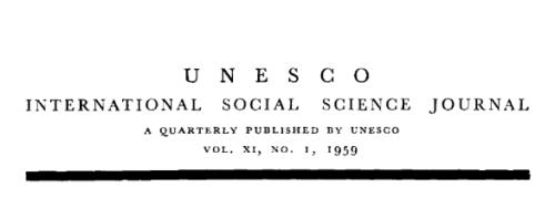 Unesco_International_Social_Science_Journal_Volume_XI,_No_1,_1959