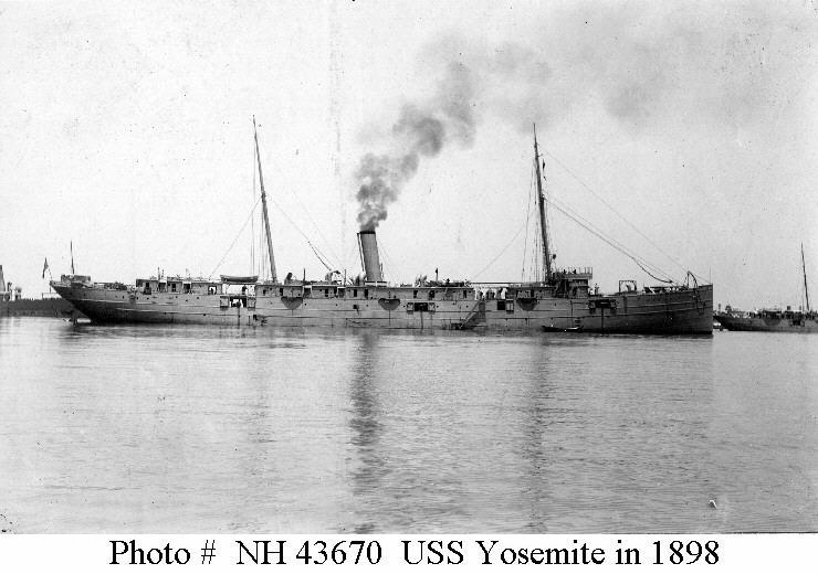 USS Yosemite in 1898
