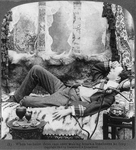 opium smoker ad 1904