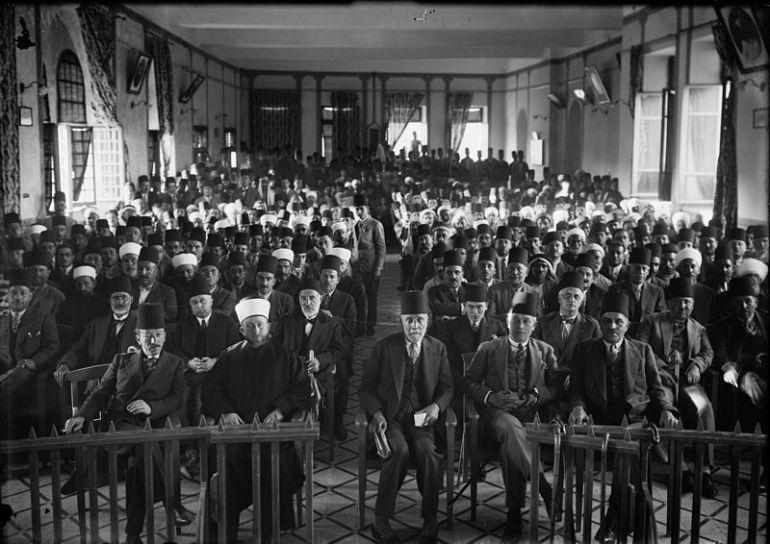 800px-Palestinian_delegation_1929