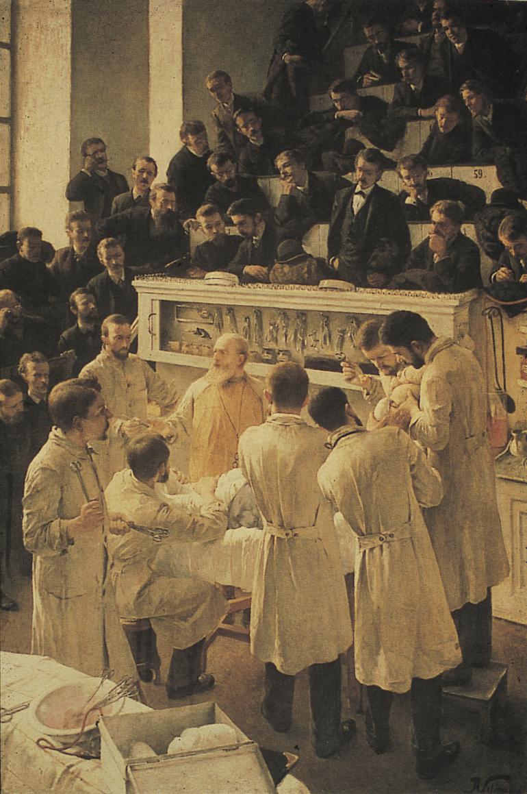 Vienna Surgery 1890