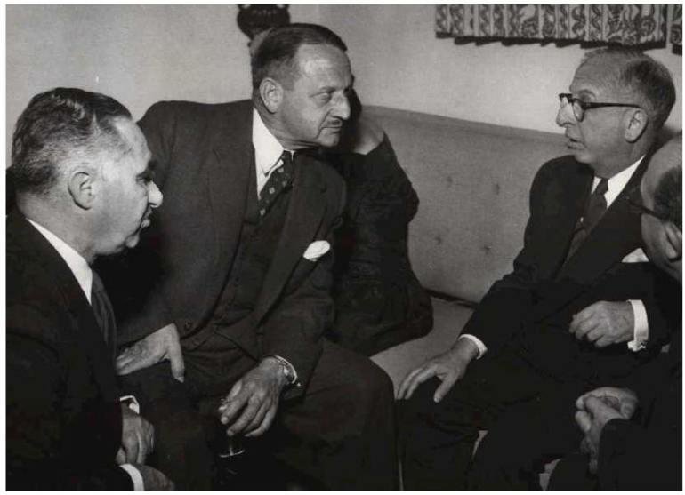 Abe 'The Shiv' Guzak, Benjamin Lonski, And Sam Bronfman