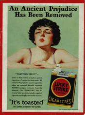 bernays and women smoking 1928