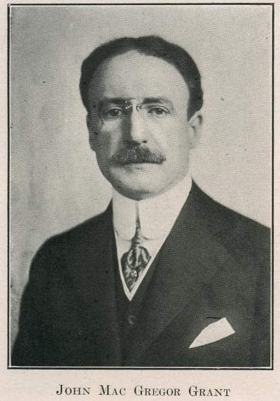 John Mac Gregor Grant