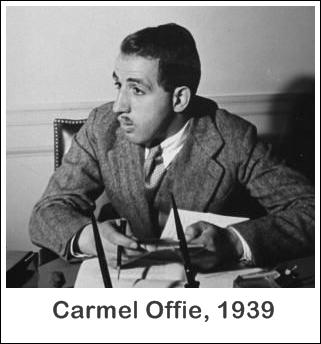 Carmel Offie in 1939