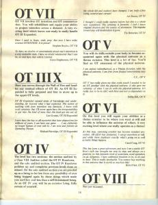 OT levels Advance iss 19 1973 - 2