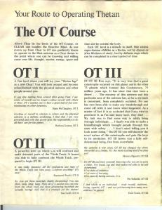 OT levels Advance iss 19 1973