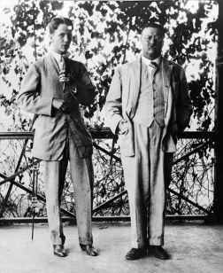 Kermit Roosevelt Sr. (left)