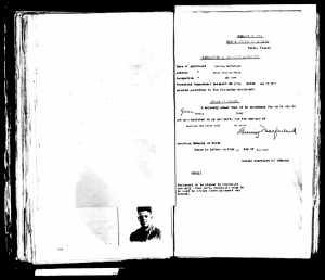 1917 passport app Lanning MacFarland 3