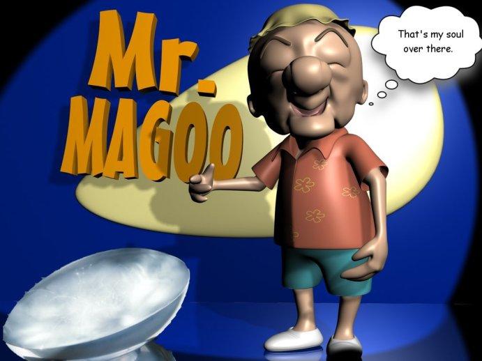 mr magoo meets new age jesus