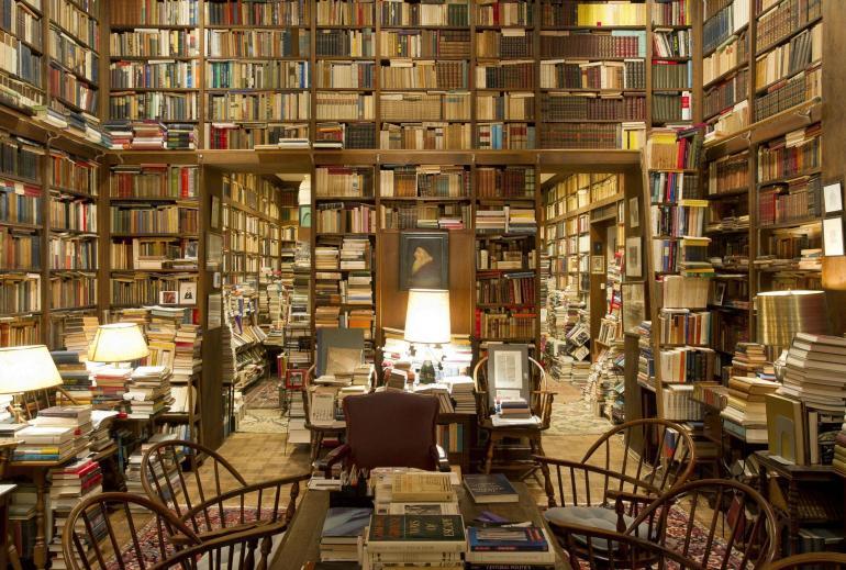 library basement