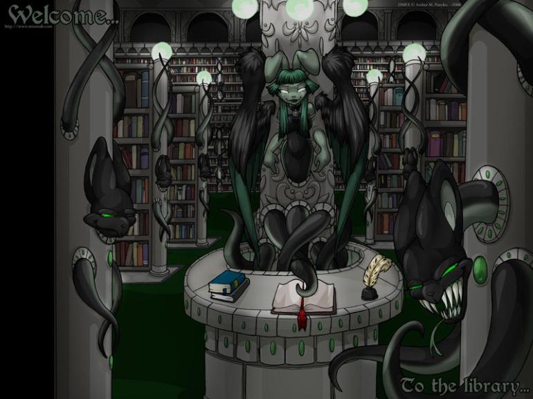 alien librarian