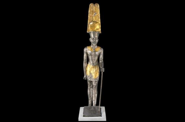 Amun statue at Karnak - British Museum