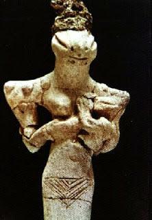figurine found at Ur, 4000 BC