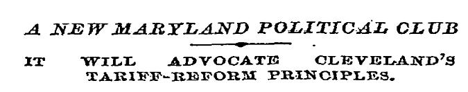 maryland_political_club_for_tariff_reform_1891
