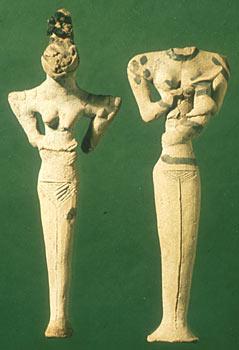 mesopotamian figurines 4,500 BC