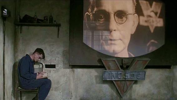 Resultado de imagem para big brother george orwell CIA