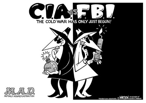 CIA versus FBI - the cold war begins