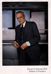 Dr. Edward A. Strecker - 1943, Professor of Psychiatry U Penn.