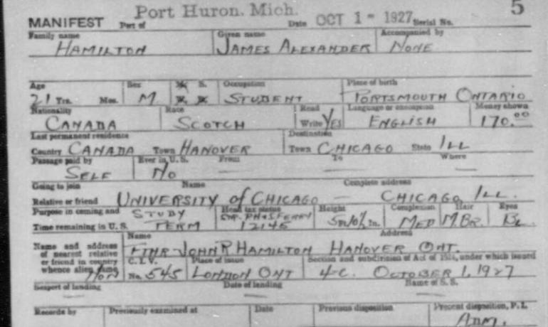 James_Hamilton_was_from_Canada_-_1927