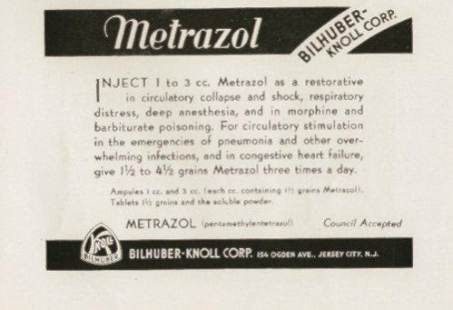 Metrazol ad