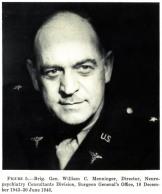 William Menninger - replaced Halloran upon his death in Nov. 1943