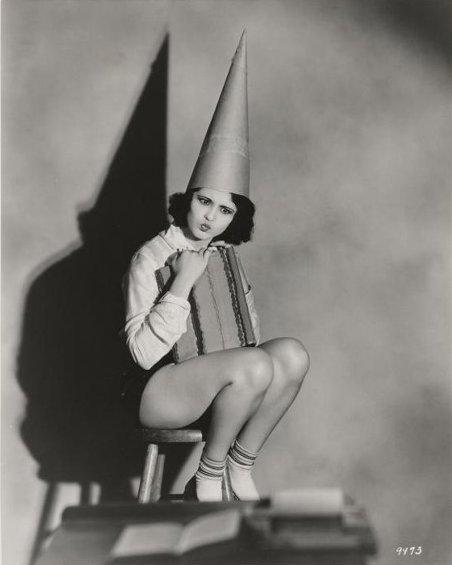 Raquel Torres dunce cap