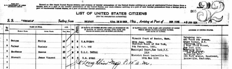 casimir_sailing_from_belfast_december_30_1933_arriving_new_york_january_9_1934