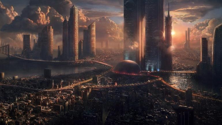 The Dark Empire - empire City - London