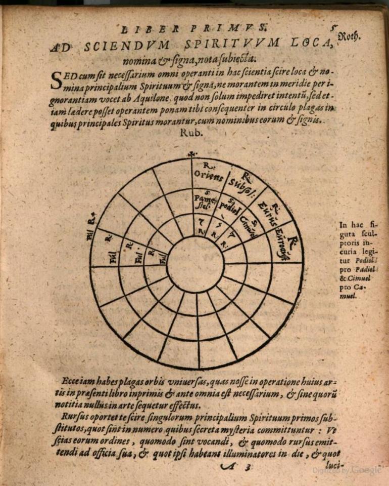 Steganographia- spirit code p 17