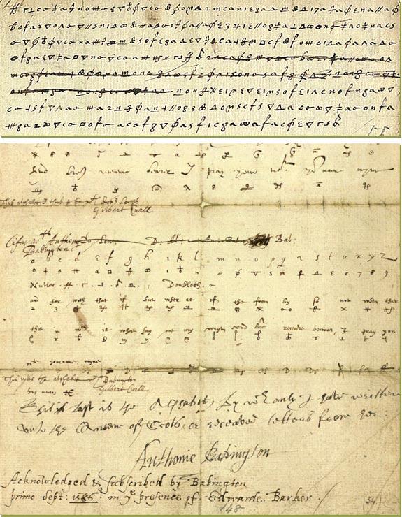 walsinghams forged postscript incriminating mary - babington plot 1586