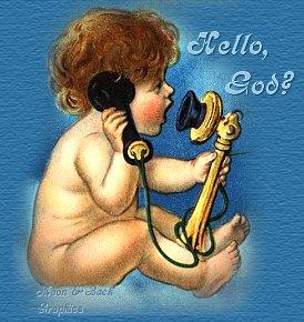 cherub calls god