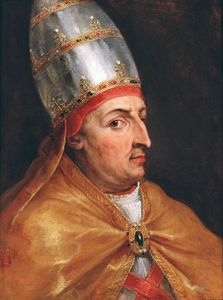 Pope nicholas V by Peter_Paul_Rubens in 1616