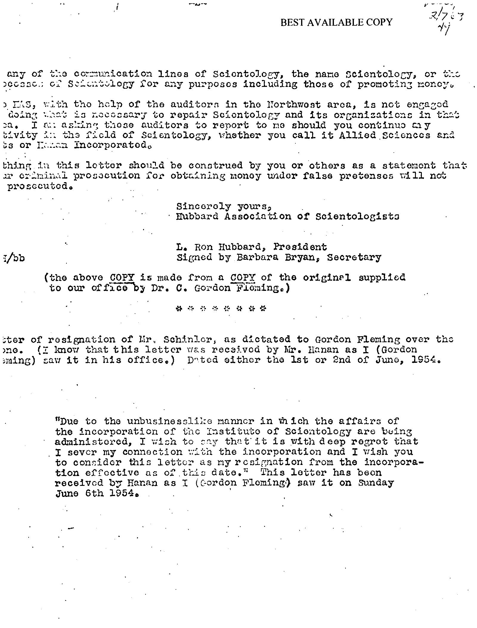 spokane history the institute of scientology - L Ron Hubbard Lebenslauf