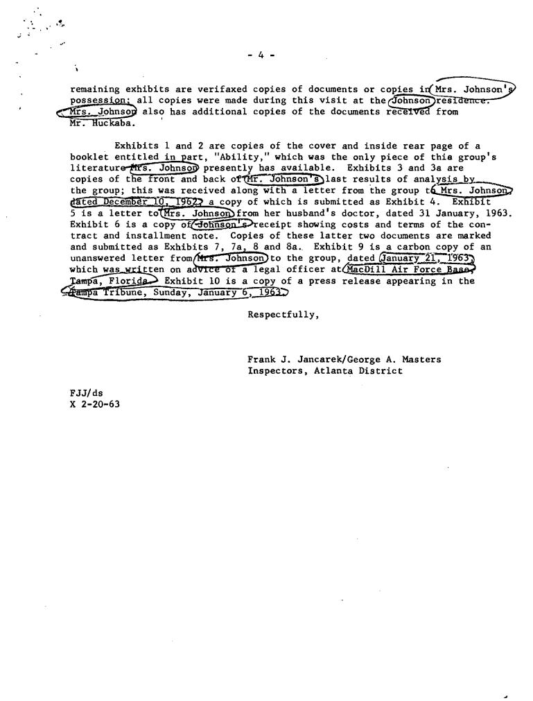Frank J. Jancarek, Tampa FBI scientology 4
