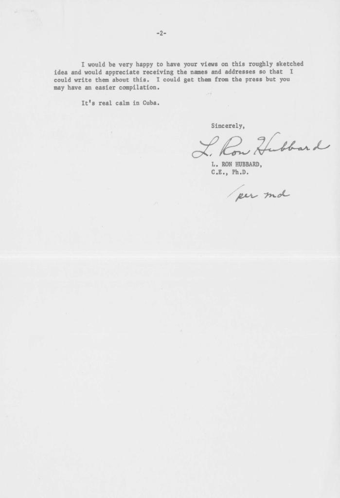 January 2 1958 Hubbard letter to Edward Condon p2