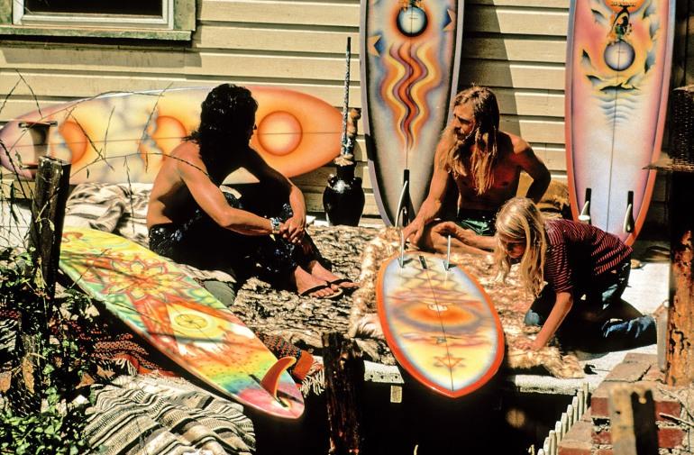 Hynson rainbow surf boards