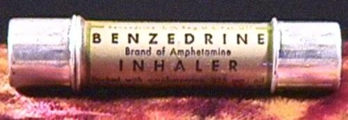 A 1939 Benzedrine inhaler ad from Smith, Kline and French