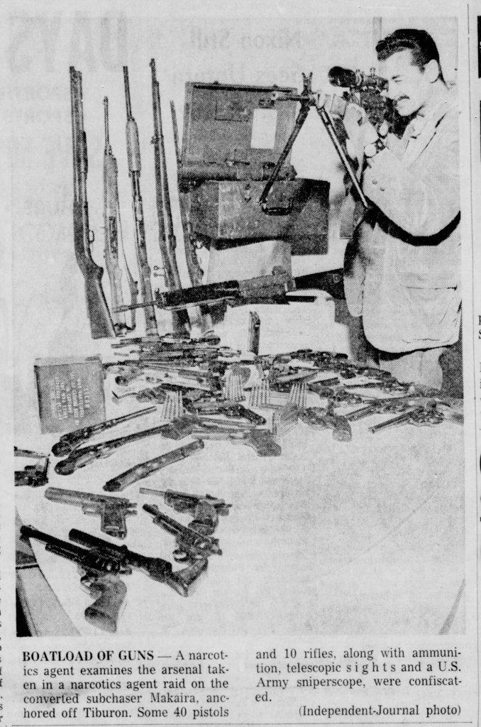 boatload of guns makaira jerry mcdonald scientology
