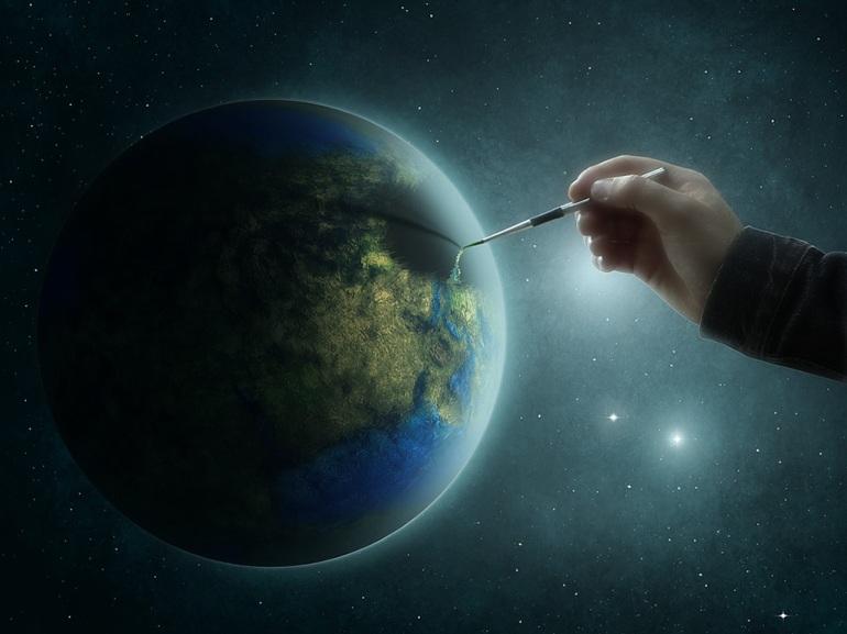 How_GOD_created_earth_