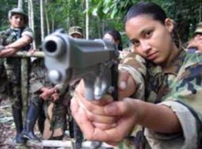 farc girl gun