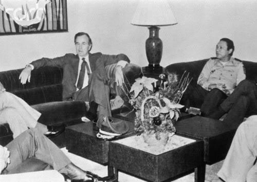 bush-noriega 1983 recruited to help contras nicaragua